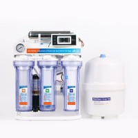 75GPD home purified reverse osmosis water filtration