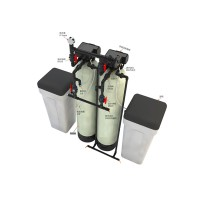 Commercial Water Softener System with Automatic Valve