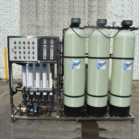 Industrial Ultrafiltration UF Systems WITH HOLLOW-FIBER UF MEMBRANES