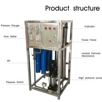 250lph/500lph/1000lph ro water plant wholesale price CE certificate