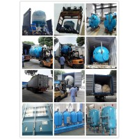 Borewell Media filter industrial water treatment machine wholesale price