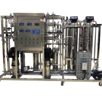 Double pass RO system with EDI system for hospital medical