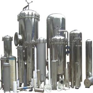 Industrial water liquid security filter housing
