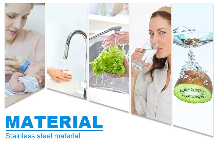5-stage water filter application